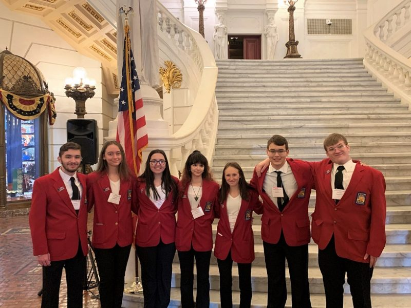 CCCTC SkillsUSA Students Attend Leadership Conference