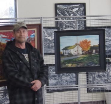 Dixon's Art on Display at Shaw Library