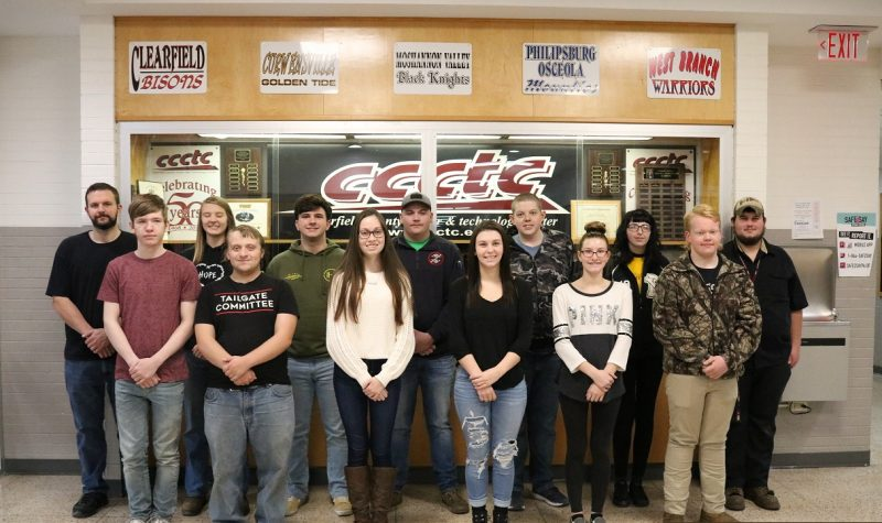 CCCTC Announces Students of the Quarter for Afternoon Session