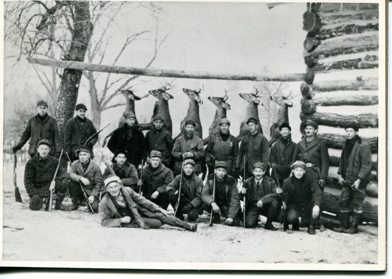 Throwback Thursday: A Good Day's Buck Kill at Shaw Hunting Camp