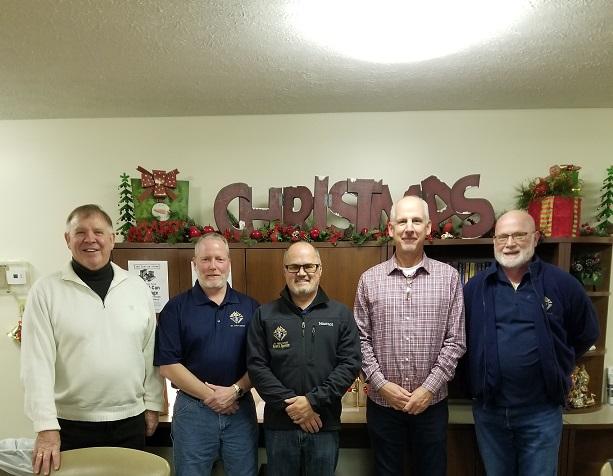 Knights of Columbus Members Go Christmas Caroling