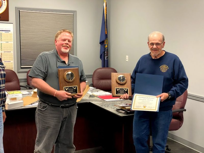 Sandy Twp. Bids Farewell to Two Supervisors