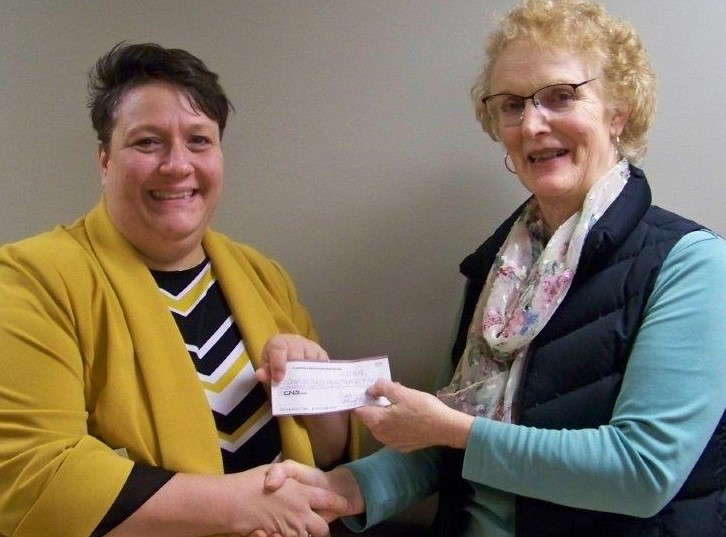 Clearfield Education Association Presents CCAAA Inc. With Donation