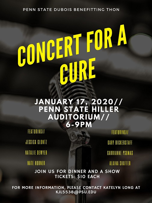 'Concert for a Cure' will Benefit THON