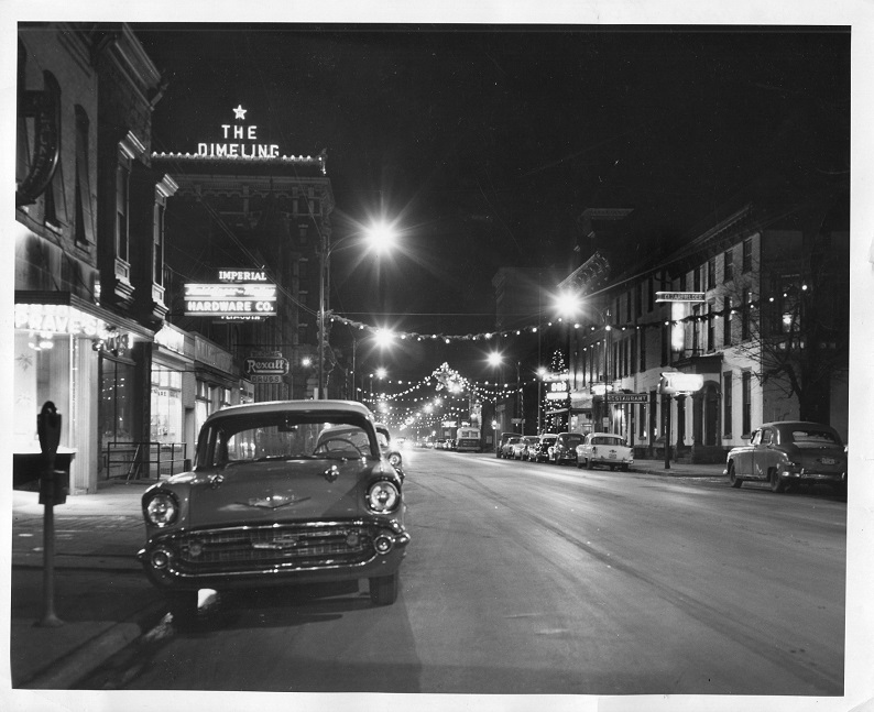 Throwback Thursday: Christmastime in Downtown Clearfield