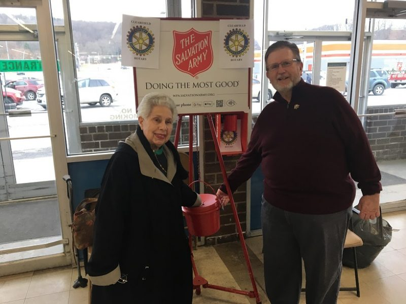 Clearfield Rotary Club Holds Annual Bell Ringer Event