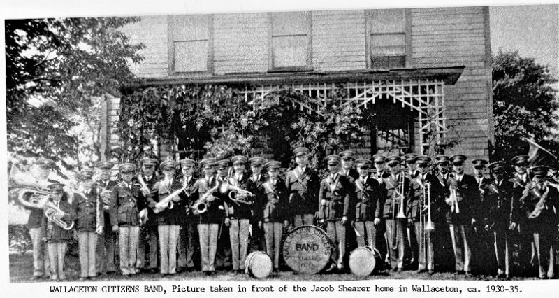 Throwback Thursday: Wallaceton Citizens Band Proudly Poses