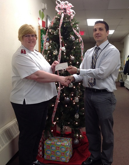 Clearfield Education Association Donates to Clearfield Salvation Army