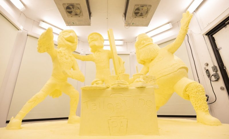 2020 Farm Show Butter Sculpture Unites Consumers Through Things They Love: Good Food, Celebration, Pro-Sports Mascots