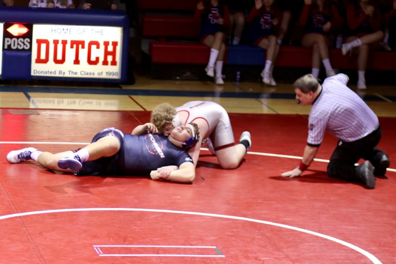 Bison Wrestling Trumps Flying Dutchmen 39-24