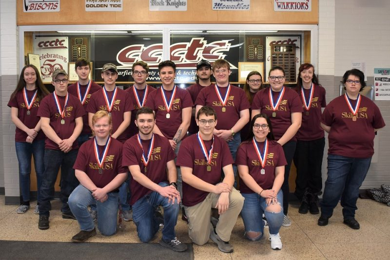 CCCTC's SkillsUSA Students Advance to State Competition