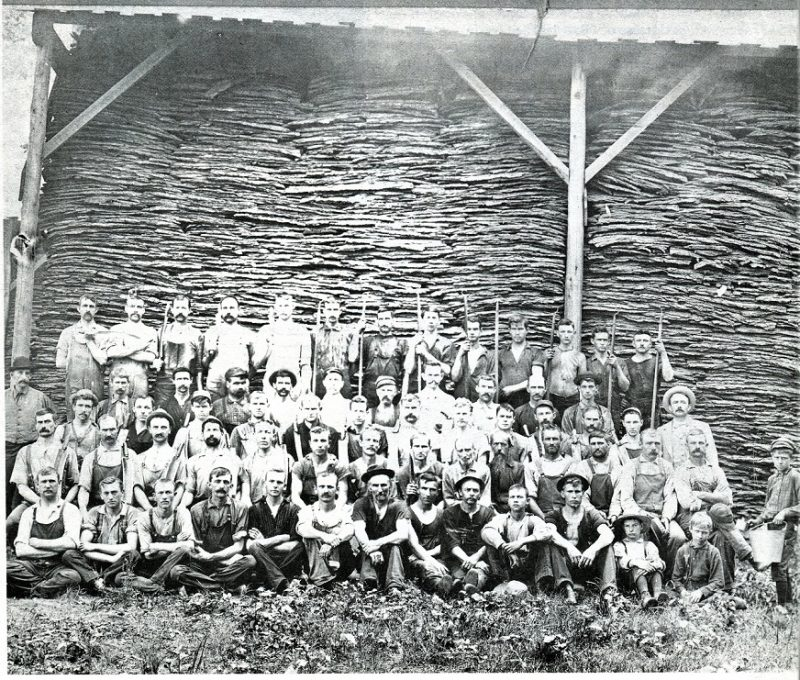 Throwback Thursday: Tannery Workers in Westover