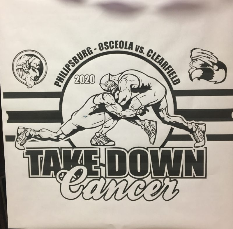 Bison Edge Mounties in 5th Annual Take Down Cancer Match