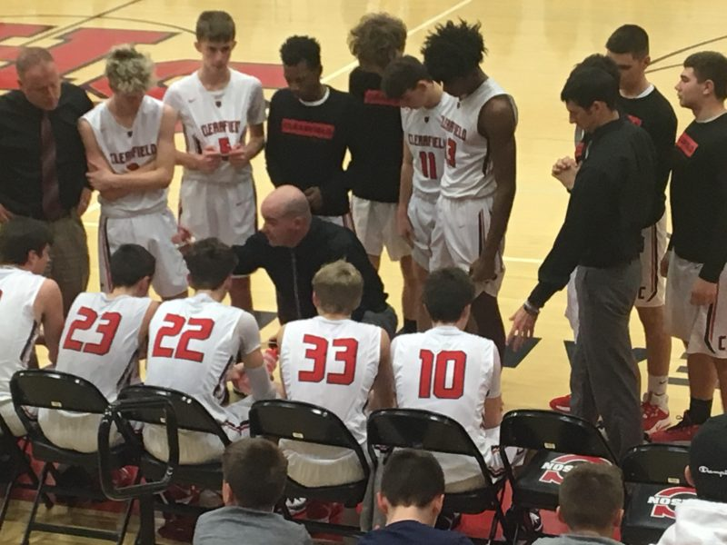 Bellefonte Closes Late, but Bison Cagers Hold On for Victory