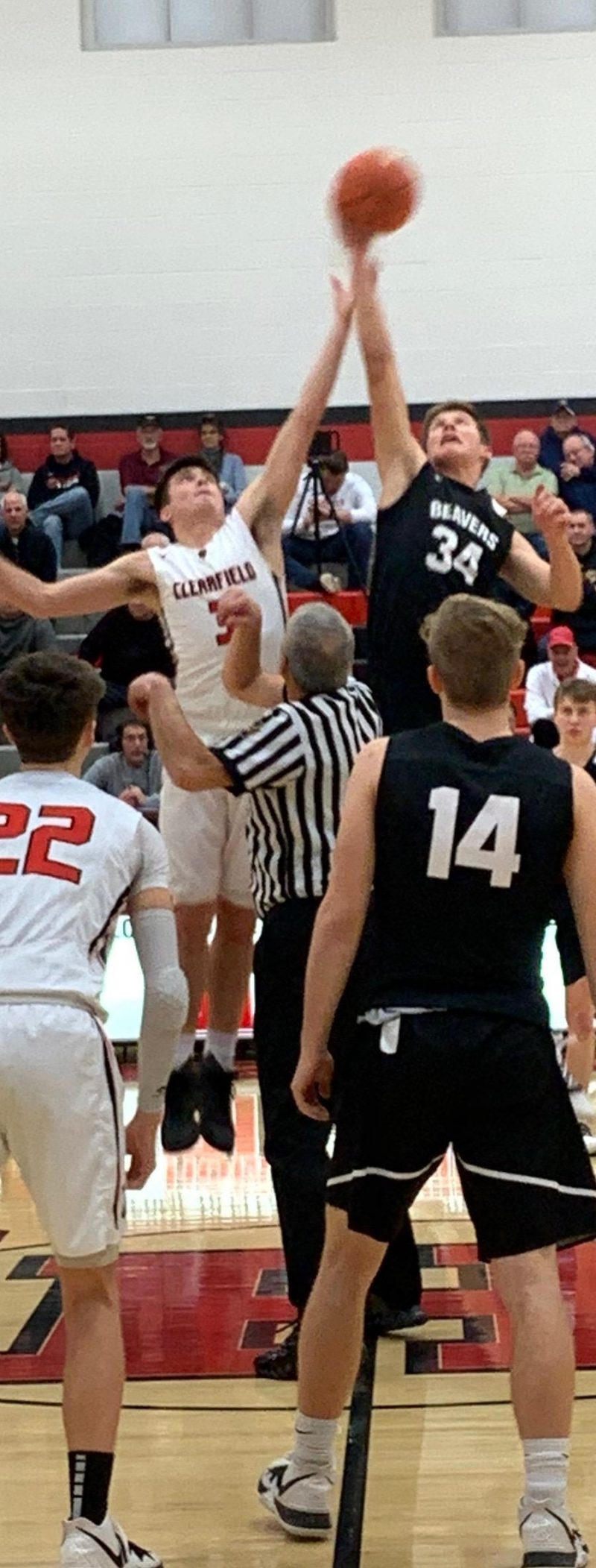 DuBois Tops Bison In Energy Packed Battle 70-58