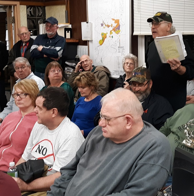 Area Residents Concerned Over Proposed Camp Hope Run Landfill