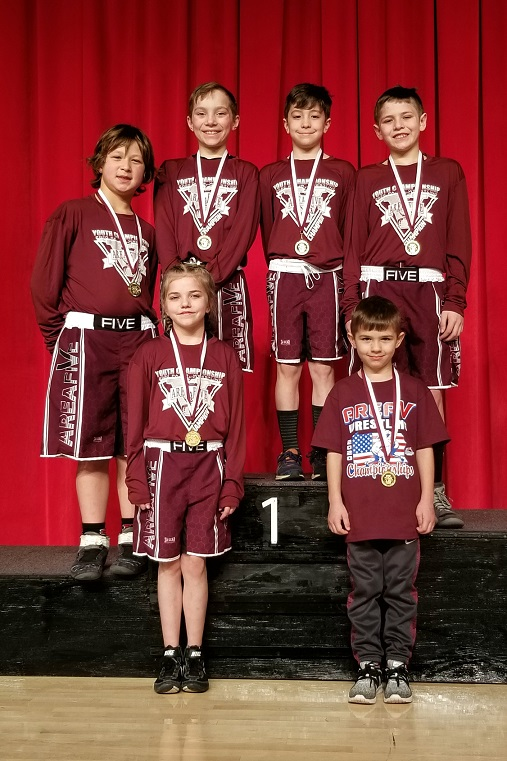 9 DuBois Youth Wrestlers Qualify for States