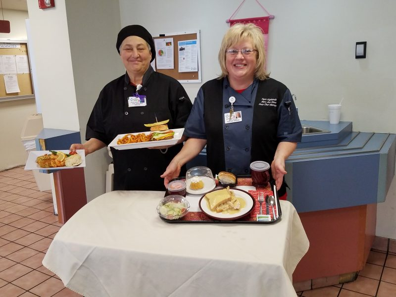 Newly-Appointed Food and Nutrition Director Looks to Improve Menu at PH Clearfield