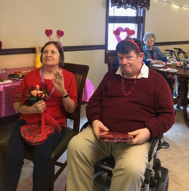 Nelson's Golden Years Celebrates Valentine's Day