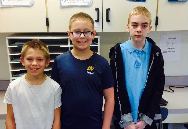 Glendale School District Congratulates Spelling Bee Winners