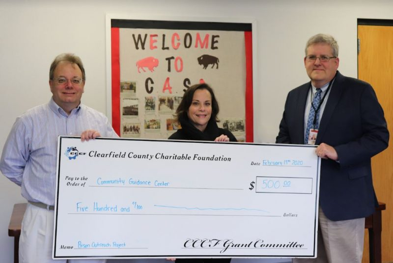 Clearfield Co. Charitable Foundation, Clearfield Area School District and Community Guidance Center Team Up to Combat Teen Drug and Alcohol Addiction