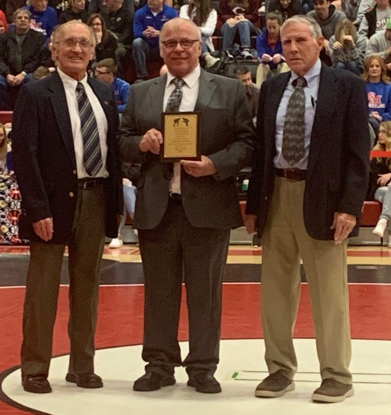 Bob Peters Inducted into D9 Wrestling Hall of Fame