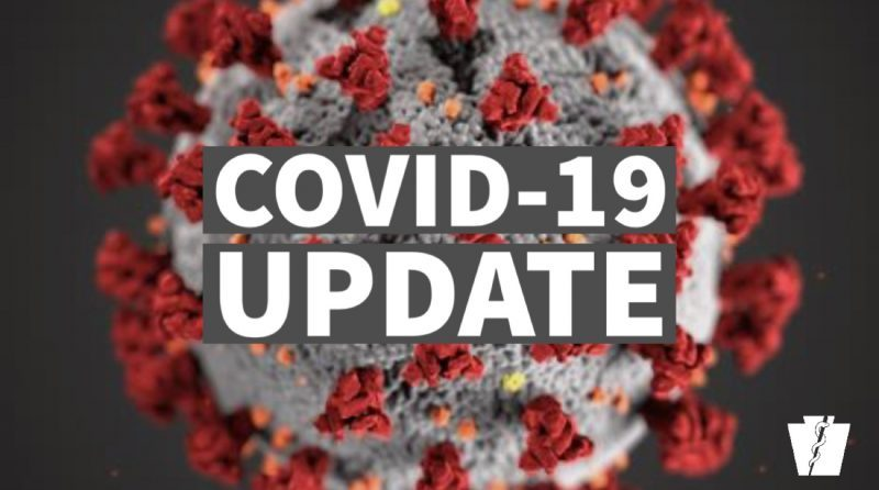 DOH: Over 1,300 New COVID-19 Cases in PA; 2 New Cases in Clearfield Co.