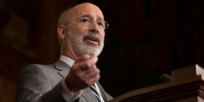 Gov. Wolf Announces Financial Assistance Available to Small Businesses