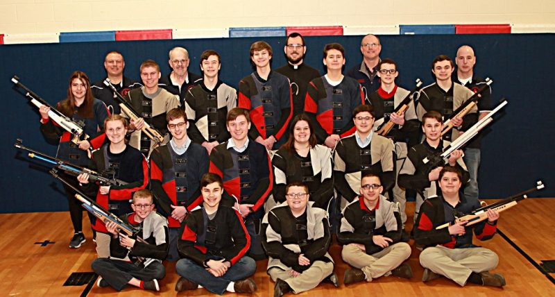 NRA Foundation Awards $2,980 to the DuBois Central Catholic Air Rifle Team