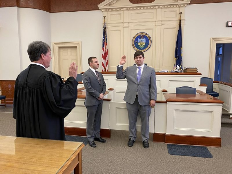 DA Sayers Announces Swearing-in of Assistant District Attorney