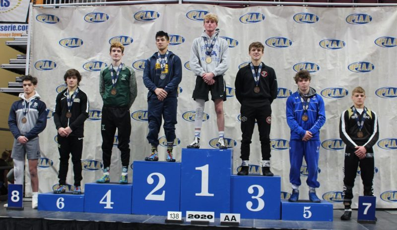 Curwensville's Holland Finishes Career With 6th Place Finish at PIAA AA State Championships