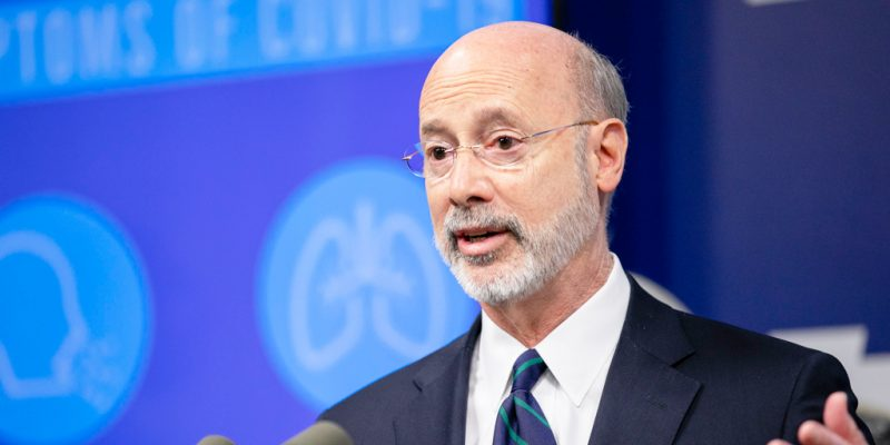 Gov. Tom Wolf Denounces PA Counties Reopening Without His Approval as 'Cowardly,' 'Selfish'