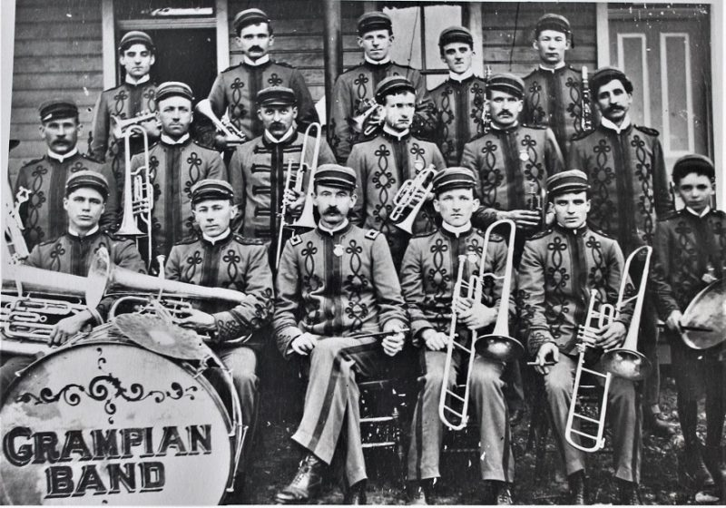 Throwback Thursday: The Grampian Band Plays On
