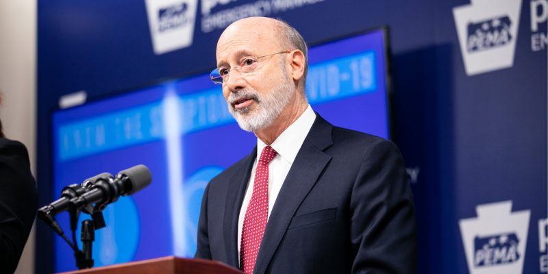 Gov. Wolf Outlines Plans to Create Commonwealth Civilian Coronavirus Corps to Support Fall COVID-19 Recovery Efforts