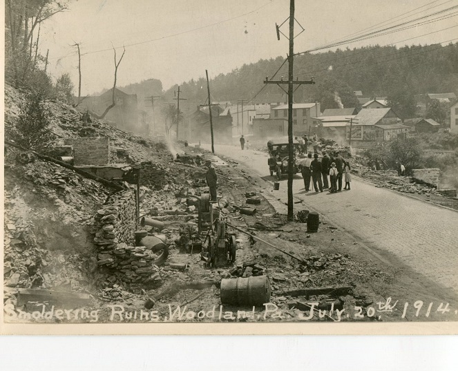 Throwback Thursday: Woodland Fire of 1914