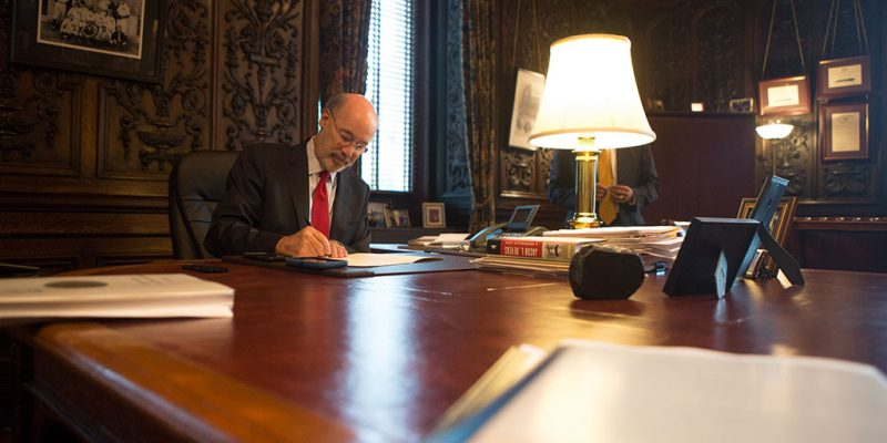 Gov. Wolf Signs Executive Order to Provide Civil Immunity for Health Care Providers